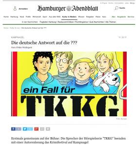 Hamburger Abendblatt Ausschnitt