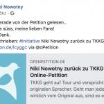 Online Petition für Original-Karl